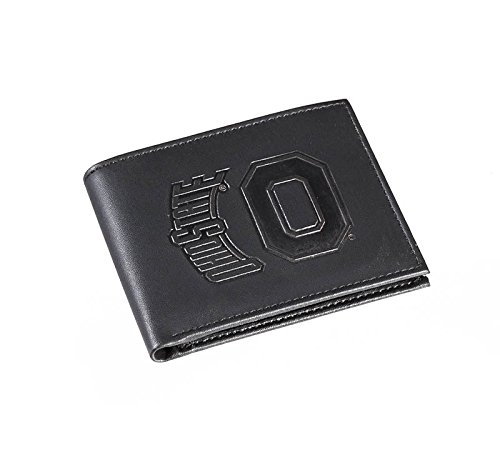 Team Sports America Leather Ohio State Buckeyes Bi-fold Wallet