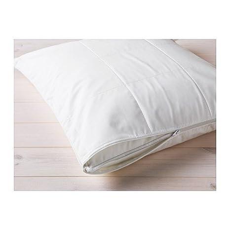 IKEA KUNGSMYNTA Protector de almohada en blanco; (80 x 80 cm ...
