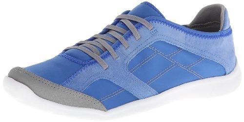 CLARKS Women's Arbor Jade, Light Blue, 9.5 (Clarks Walking Shoes)