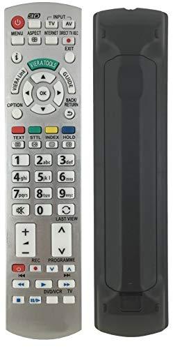BELIFE Ersatz Fernbedienung f/ür passend Panasonic N2QAYB000759