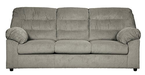 Ashley Furniture Signature Design - Gosnell Contemporary Upholstered Sofa - Gray