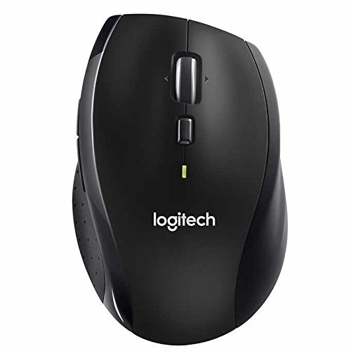 Logitech Wireless Performance Plus Mouse for PC and Mac, Large Mouse, Long Range Wireless Mouse by Logitech