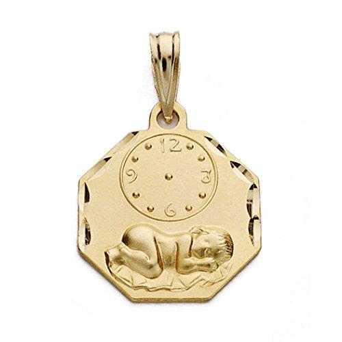 18k médaille d'or montre nino 17mm. [AA0580]