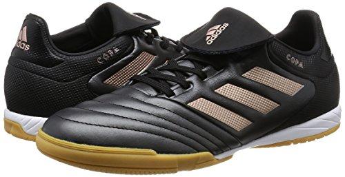 Adidas Coupe 17.3in–Bottes de Football pour Homme, Noir–(negbas/cobmet/negbas) 44