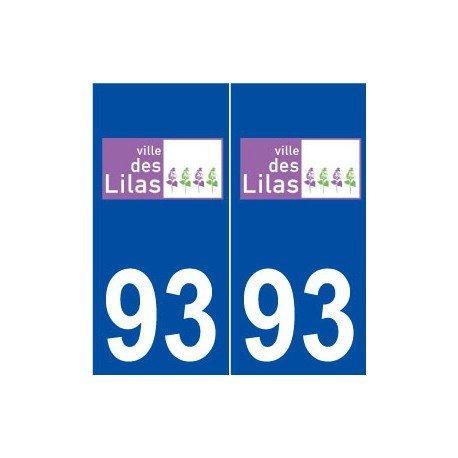 93Flieder carsharing Logo selbstklebend Platte Aufkleber Stadt-rechte