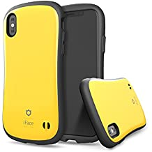 iPhone X case, iFace [First Class] Case with Built-In Magnetic Metal Plate [Heavy Duty Protection] [Military Drop Test Certified] for Apple iPhone X- Yellow