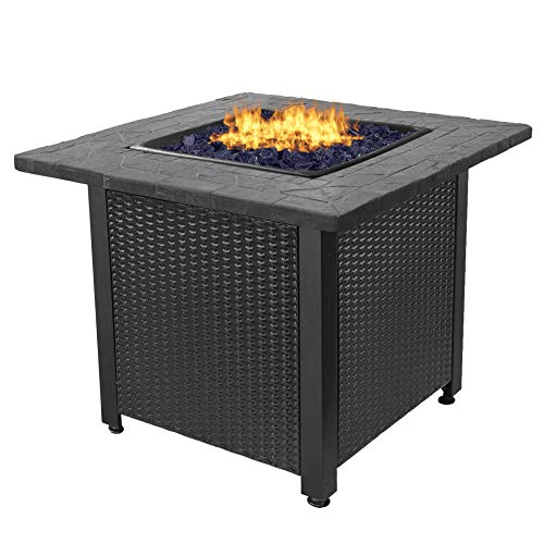 (Endless Summer GAD1401GB LP Gas Outdoor Fire Table,)
