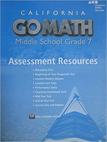 grade 7 math end of year exam