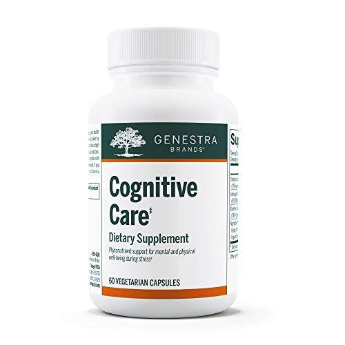 Genestra Brands – Cognitive Care – Phytonutrient Supplement – Rhodiola, Eleuthero and Ashwagandha Extract, Neurophenol…