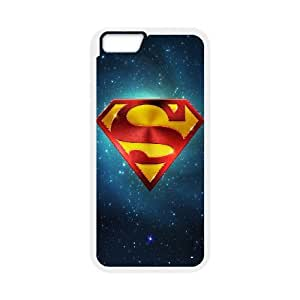 Superman & Galaxy iPhone 6 Plus Case, Iphone 6 Plus Cases For Girls Cheap Girl Design Yearinspace - White