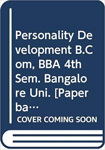 Amazon in: Buy Personality Development B Com, BBA 4th Sem