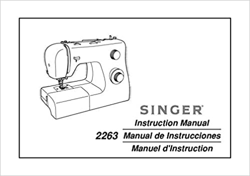 Singer 40SIMPLE Sewing MachineEmbroiderySerger Owners Manual Beauteous Singer Sewing Machine 2263