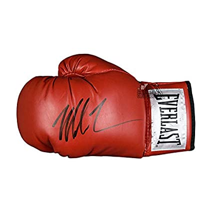 8455eea77af Mike Tyson Autographed Everlast Red Boxing Glove - JSA COA at Amazon s  Sports Collectibles Store