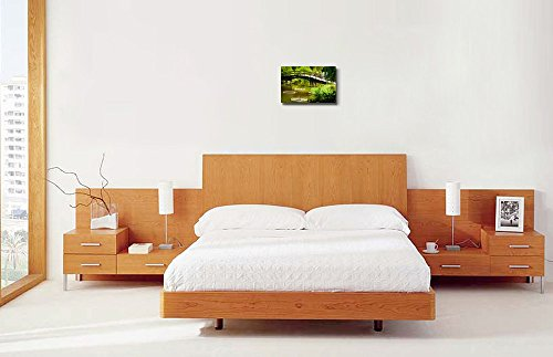 Japanese Garden Bridge Home Deoration Wall Decor