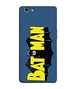 ColorKing OPPO F1S Case Shell Cover - Batman Multi Color