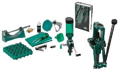 RCBS Rock Chucker Supreme Master Reloading Kit, Green, Outdoor Stuffs