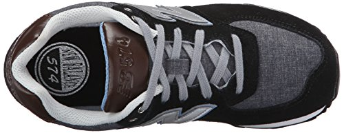 New Balance KL574U1G Junior Sneakers (schwarz/grau)