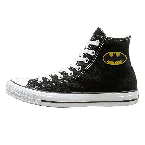 [Bibabu B00589DHI0 Energetic Unisex Black High-tops Canvas Shoes] (Emily The Strange Costume Shoes)