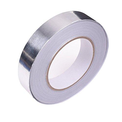 Cosmos ® Silver Metal Repair Aluminum Foil Tape, 1 inch x 55 yds