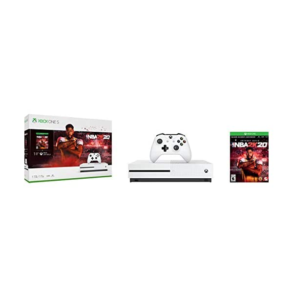 Xbox One S 1TB Console - NBA 2K20 Bundle - [DISCONTINUED] 1