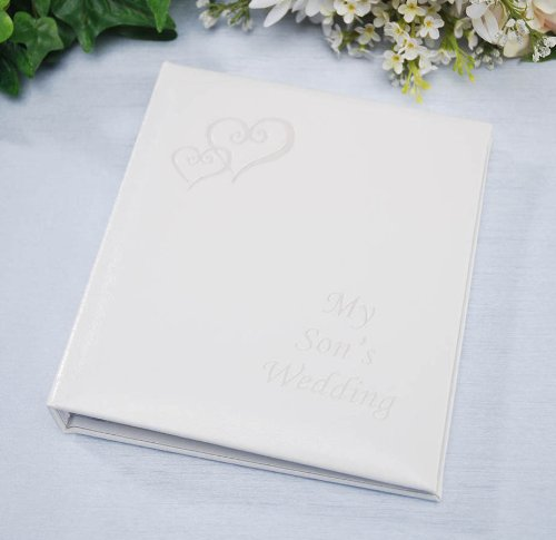 Darice VL43, My Sons Wedding Album, Holds 48, 5-Inch-by-7-Inch