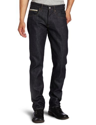 All Mankind Straight Leg Selvedge Indigo
