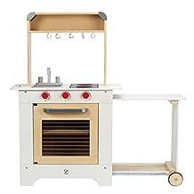 Hape Cook n' Serve Wooden Kitchen Play Set