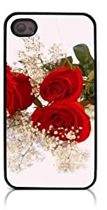 HeartCase Hard Case for Iphone 4 4G 4S (Romantic Rose Flower ) by icecream design