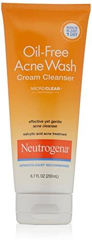 Neutrogena Oil-acné sans crème nettoyante, 6,7 once liquide (Pack de 6)