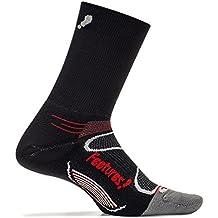 Feetures! - Elite Light Cushion - Mini Crew - Athletic Running Socks for Men and Women