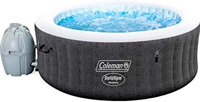 Coleman Saluspa 71 x 26 Havana AirJet Inflatable Hot Tub with Remote Control, 2-4 Person
