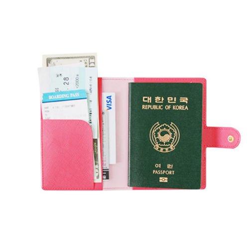 NPLE--Good Travel Journey Passport ID Card Holder Case Cover Wallet Purse Organizer