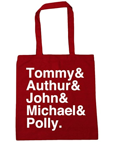 Tote 10 family Beach HippoWarehouse litres Shopping Classic x38cm Gym Bag Shelby 42cm Red OzEEqFwx6R