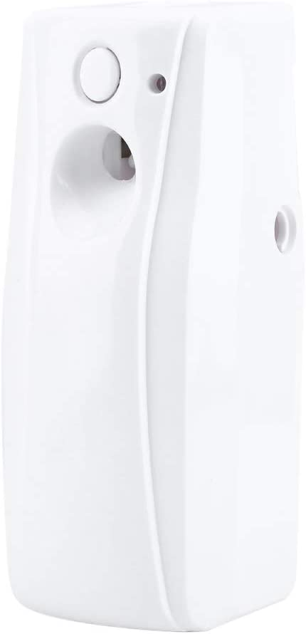 Hztyyier Automatic Fragrance Dispenser Wall Mount/Free Standing ABS Auto Air Freshener Aerosol Spray Perfume Dispenser