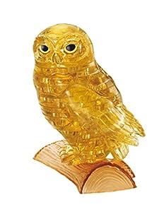 Amazon.com: 42 piece Crystal puzzle Owl Gold 3D puzzle: Toys & Games