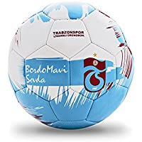 Trabzonspor 1Nbtptsmavin5 Futbol Topu, Unisex, Beyaz/Mavi, L