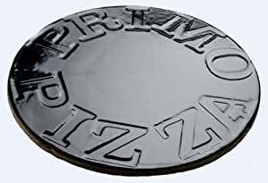 Primo 340 Porcelain Glazed Pizza Baking Stone for Primo Oval Junior Grill Garden, Lawn, Supply, Maintenance