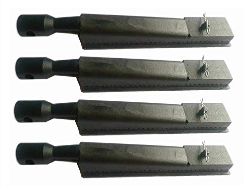 Hongso Replacement Cast-Iron Grill Pipe Burner CBI351(4-Pack) Select Gas Grill Models by Brinkmann, Kenmore Sears.