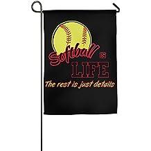 Softball Is Life Custom Home Backyard Decorative Flag For Celebration
