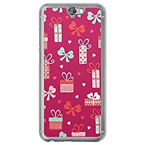 Loud Universe HTC One A9 Love Valentine Printing Files Valentine 35 Printed Transparent Edge Case - Multi Color