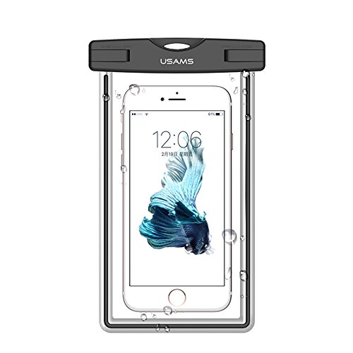 cheap for discount 69d66 3f042 Amazon.com: Universal Noctilucous Waterproof Case , USAMS Cell Phone ...