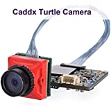 Caddx FPV Camera Turtle Micro Mini Cam CMOS 1080P 60fps HD Recording FOV 170° with WDR OSD Low Latency Red for Tiny Whoop Racing Drone