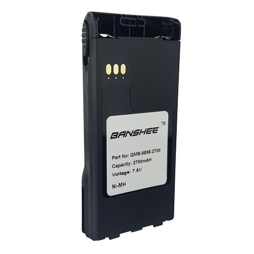 2X SMART Two Way Radio Battery BP9858MH Fits Motorola NTN9858C Ni-MH Replacement