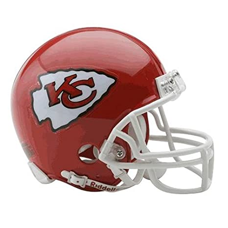 0d347732 Riddell Kansas City Chiefs Replica Mini Helmet