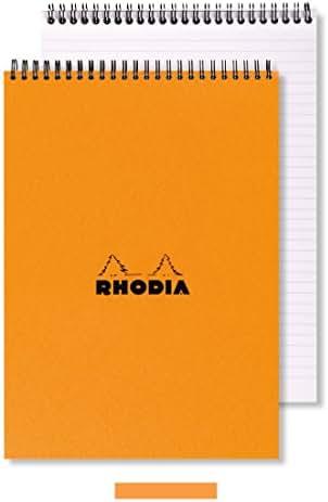 Notebooks: Rhodia A5 Wirebound Pad