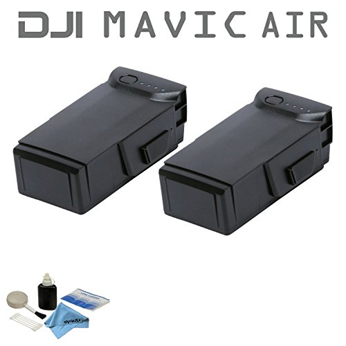 2 Pack DJI Intelligent Flight Battery Bundle for Mavic Air