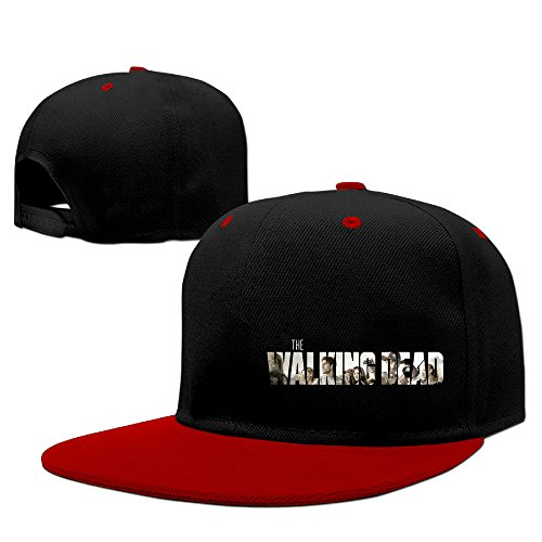 hiphop peaked cap man hats for men with the walking dead