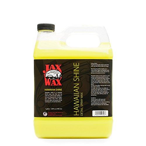 Jax Wax Hawaiian Shine Professional Wax As You Dry Spray Car Wax 1 Gallon