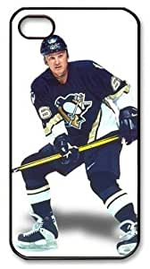 icasepersonalized Personalized Protective Case for iPhone 4/4S - NHL Pittsburgh Penguins #66 Mario Lemieux hjbrhga1544