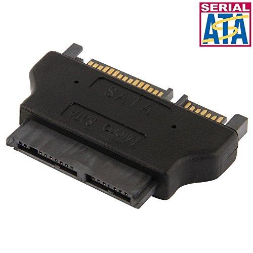 CAOMING Micro SATA 16 Pin to SATA 22 Pin Converter Adapter by CAOMING